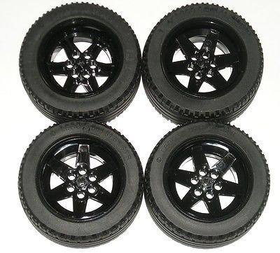 Lego Technic Reifen / Felgen Satz 81.6 x 36R aus 42000