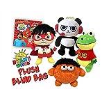 Ryan's World Plush Mystery Blind Pack Ryans Toy Gift EITHER Moe Monster, Gus Gator, Combo Panda OR Red Titan