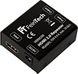 FeinTech VMR00200HDMI 2.0repeater répéteur amplificateur de signal (UHD 4K 60Hz, HDR) Portée 50m HDCP 2.2noir