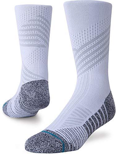 Stance Herren Athletic Crew ST Socken, weiß, Medium