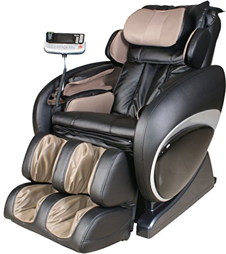 Osaki OS4000A Model OS-4000 Zero Gravity Executive Fully Body Massage Chair, Black, Computer Body Scan System, True Ergonomic S-Track, Upgraded PU Covering for Increase Durability and Comfort