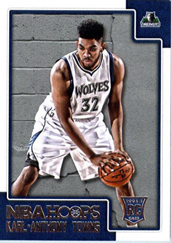 Top 10 karl anthony towns rookie card for 2021