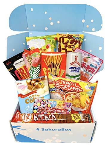 Sakura Box Premium Selection Japanische Schokolade Snacks Drink