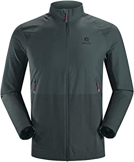 KAILAS Men's Waterproof Athletic Softshell Jacket Tactical Jacket Hiking Hunting Traveling