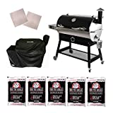 REC TEC Grills | RT-700 | Bundle | WiFi Enabled | Portable Wood Pellet...