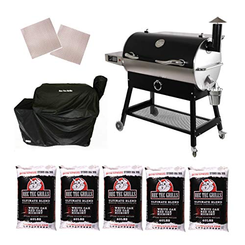 REC TEC Grills | RT-700 | Bundle | WiFi Enabled | Portable Wood...