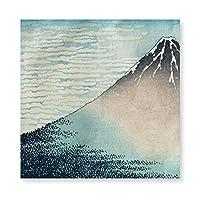 INOV 澄んな 富士 絵画 フレーム装飾画 キャンバスアート アートパネル 壁画 壁掛け 絵 アート 版画 壁飾り ポスター 40x40cm