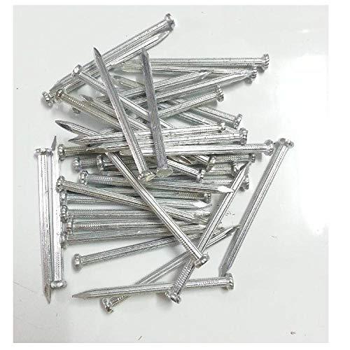 Clavos de cemento duro, clavos pequeños de acero, clavos largos de hierro.-1 pulgada 25 mm de largo