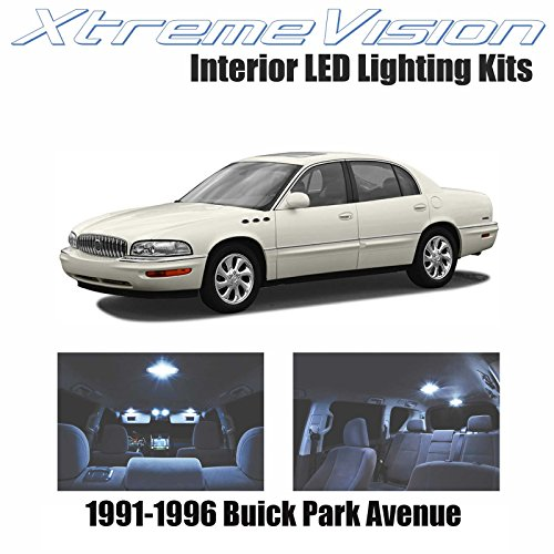 XtremeVision Interior LED for Buick Park Avenue 1991-1996 (20 Pieces) Cool White Interior LED Kit + Installation Tool