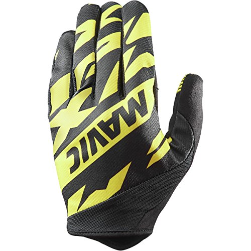 MAVIC Deemax Pro Fahrrad Handschuhe lang gelb/schwarz 2018: Größe: L (10)