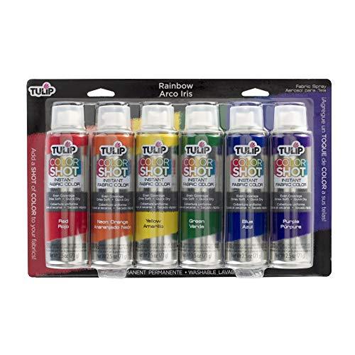 Tulip 37231 Fabric Paint, Rainbow