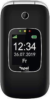 Opel Flip Phone 2 (3G, Keypad) - Black