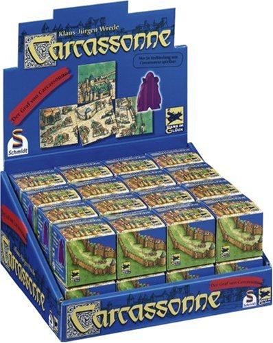 Schmidt Spiele - Expansión Carcassonne: El Conde de Carcasona [Importado de Alemania]