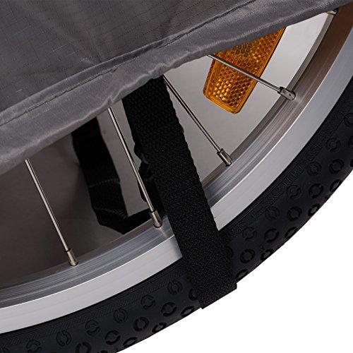 Bike Trailer Faltgarage für Fahrradanhänger (UV-Schutz, Wasserdicht), Universell, Schutzhülle für Alle Modelle - 5