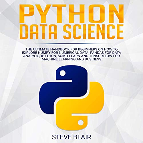 Python Data Science audiobook cover art