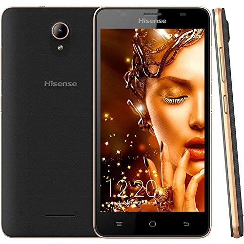 Hisense U989 14 cm (5.5″) 1 GB 8 GB SIM Dual Negro, Plata 2500 mAh – Smartphone (14 cm (5.5″), 1280 x 720…