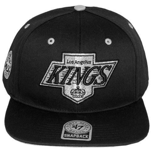 47 Brand - Casquette Snapback Homme Los Angeles Kings Twill Oath