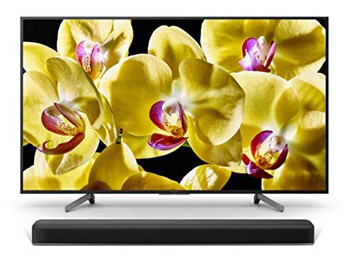 Sony KD-43XG8096 Bravia 43 Zoll (108cm) Fernseher (Ultra HD, 4K HDR, Android Smart TV, Chromecast) schwarz Plus HT-X8500 2.1 Kanal Dolby Atmos Soundbar (4K HDR, Bluetooth, DTS:X) schwarz