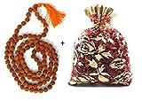 New Age Japa Mala–Collar 7mm   auténtico indio 108cuentas   hand-picked   rosario para chanting