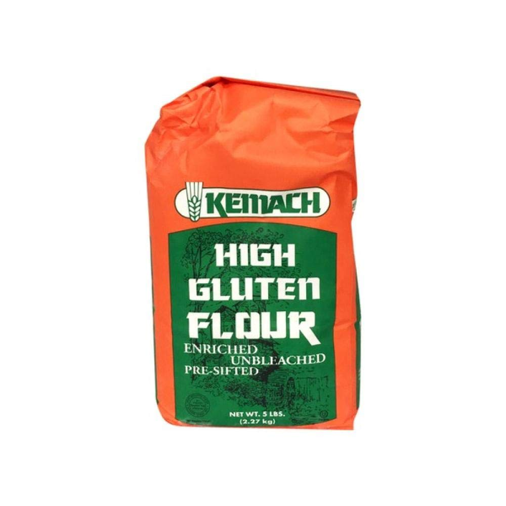 Cheap mail order shopping Kemach High Gluten Outlet ☆ Free Shipping Flour Enriched 80 Oz. Unbleached P Pre-Sifted