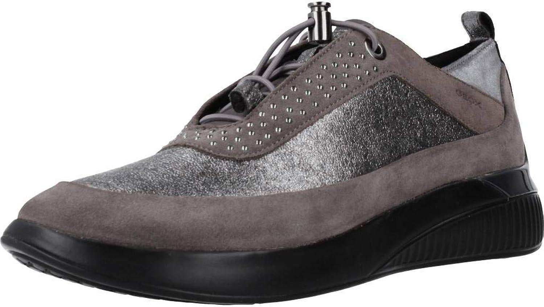 Geox Damen Laufschuhe, Farbe Grau, Marke, Modell Damen Laufschuhe Laufschuhe D THERAGON Grau  billig und Mode