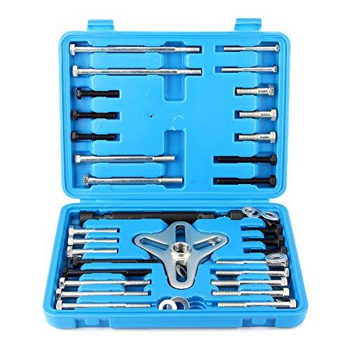 Qii lu Balancer Puller, 49 teile/satz Balancer Puller Tool Lenkrad Entferner Kurbelwellenriemenscheibe Ausbau