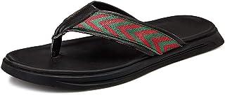 Chaussures JUJIANFU-mode pour Hommes Tongs pour Les Hommes Thong Sandals avec Pantoufles de Douche légères de Soucravaten de Arcade Chaussures de Plage