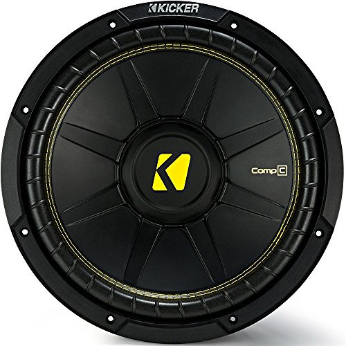 "top 10 kicker comp 12 Kicker CWCD124CompC 12 ""Dual Voice Coil Subwoofer 4 Ohm"