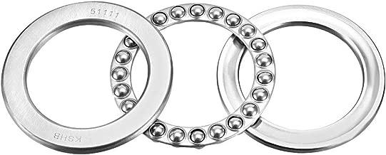 uxcell 51111 Single Direction Thrust Ball Bearings 55mm x 78mm x 16mm Chrome Steel