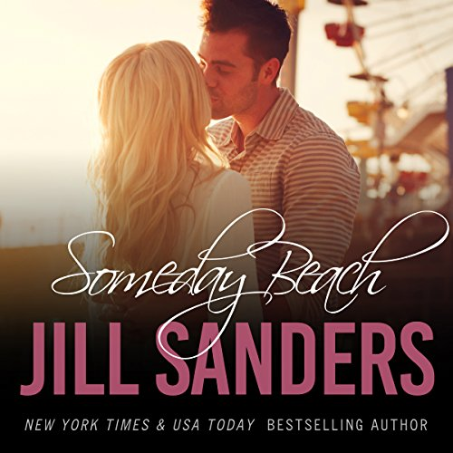 Someday Beach audiobook cover art