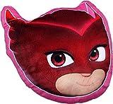 PJ Masks Soft Fur Shaped Pillow Cushion Owlette