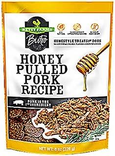 Betsy Farms Bistro 92220004008 Bistro Dog Treats, Honey Pulled Pork, 8-oz. - Quantity 6