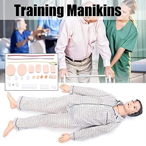 DMZH Maniquí Avanzado De Entrenamiento De Enfermería Simulador Multifuncional De Atención Al Paciente, Suministros Médicos Educativos