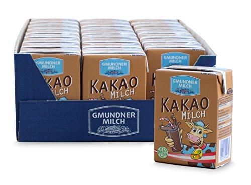 GMUNDNER MILCH Trinkmilch To Go | inkl. kostenlosem Salzkammergut Kochbuch | 3 Monate ungekühlt haltbar, 27 x 200m | Lebensmittel aus Österreich