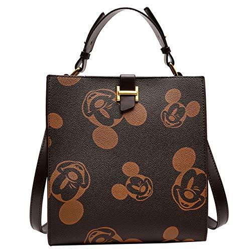 Mdsfe Maus Frauentasche niedlich Minnie Umhängetasche Schulter Umhängetasche Modecheck Damen Kettentasche Cartoon Handtasche-2