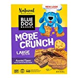 Blue Dog Bakery Natural Dog Treats, More Crunch Large, Assorted Flavors, 20oz (1 Count)