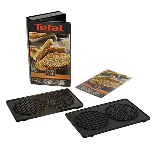 Tefal Coffret Snack Collection de 2 plaques bricelets + livre de recettes XA800712