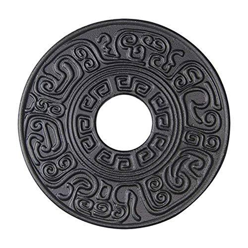 TaoToa Tapis de casserole en fonte pour théière japonaise - Diamètre d'isolation thermique - Pour table de salle à manger