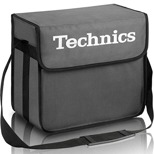 Technics borsa grigia per trasportare dischi in vinile (capienza 60 dischi)