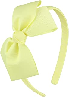 7Rainbows Cute Baby Maize Bow Headband for Girls Toddlers.