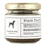 TRUFFLES USA Black Truffle Sauce 2.82 oz Jar - Imported from Italy - Fresh Sauce for Pasta, Chicken, Steak, Vegetables, Bread - Unique Gourmet Recipe