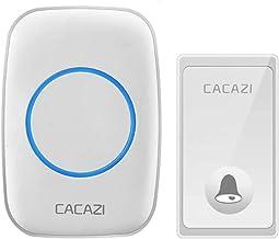 Geen batterij nodig draadloze deurbel eigen aandrijving 58 klokkenspellen US EU UK stekker Smart Home deurbel 1 2-knop deu...