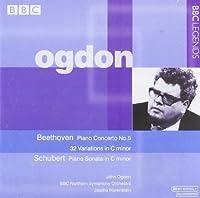 Piano Concerto 5 / Sonata C Minor by BEETHOVEN / SCHUBERT (2004-04-27)