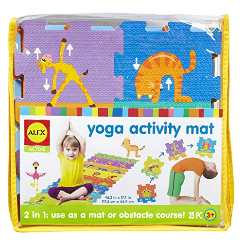 Alex Active Yoga Kids Activity Exercise Mat