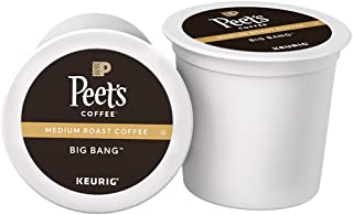 Peet's Coffee Big Bang, Medium Roast, Single Serve K-Cup Coffee Pods for Keurig..