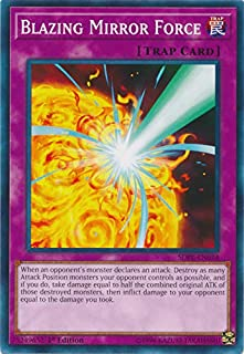 Yu-Gi-Oh! - Blazing Mirror Force - SDPL-EN034 - Common - 1st Edition - Structure Deck: Powercode Link