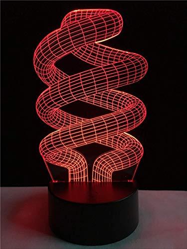 Nu 3D led-lamp jongen slaap illusie led nachtkastje licht afstandsbediening touch USB desktop lamp voor kerst huis decoratie cadeau