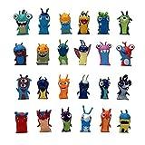 Dibujos animados de anime de 24 estrellas Slugterra Mini PVC Figuras de acción de PVC Juguetes Muñecas Juguetes para niños 4 a 5 cm