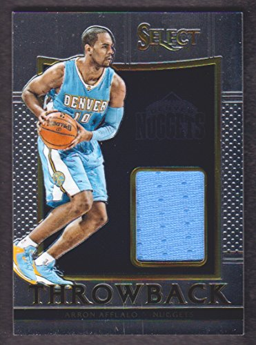 2015-16 Select Basketball Throwback Jersey #49 Arron Afflalo /149 Denver Nuggets