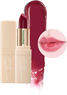 [moonshot] Honey Coverlet Stick Extreme 3.5g Sine Type - Smooth Slick Texture for Daily Natural Lip Makeup, Bright Shine Effect with Soft Watercolors (909 Black Currant)